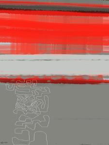 Abstract Red 1 by NaxArt