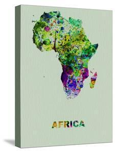 Map Of Africa Art.Beautiful Maps Of Africa Canvas Artwork For Sale Posters And Prints