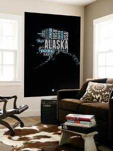 Alaska Word Cloud 1 by NaxArt