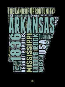 Arkansas Word Cloud 1 by NaxArt