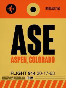 ASE Aspen Luggage Tag I by NaxArt