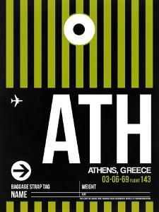 ATH Athens Luggage Tag 2 by NaxArt