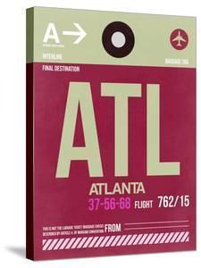 ATL Atlanta Luggage Tag 2 by NaxArt