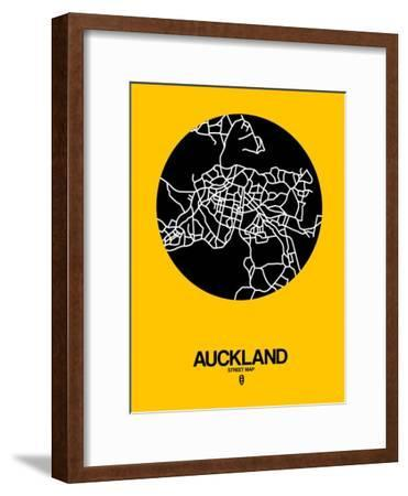 Auckland Street Map Yellow