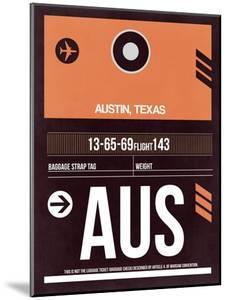 AUS Austin Luggage Tag 2 by NaxArt