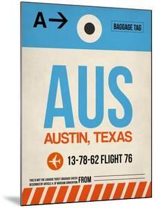 AUS Austin Luggage Tag I by NaxArt