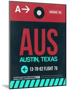 AUS Austin Luggage Tag II by NaxArt