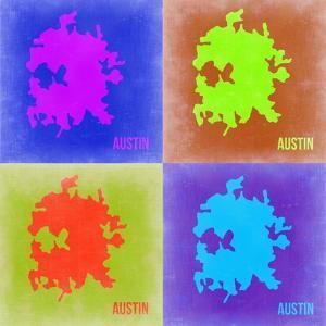 Austin Pop Art Map 2 by NaxArt