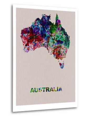 Australia Color Splatter Map