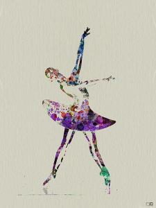 Ballerina Watercolor 4 by NaxArt