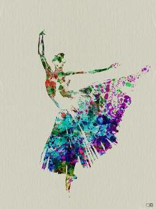 Ballerina Watercolor 5 by NaxArt