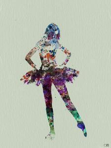 Ballerina Watercolor by NaxArt