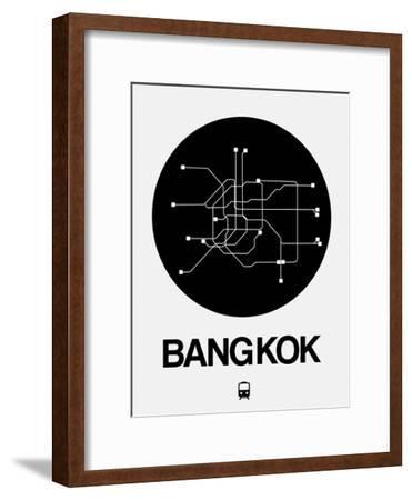 Bangkok Black Subway Map