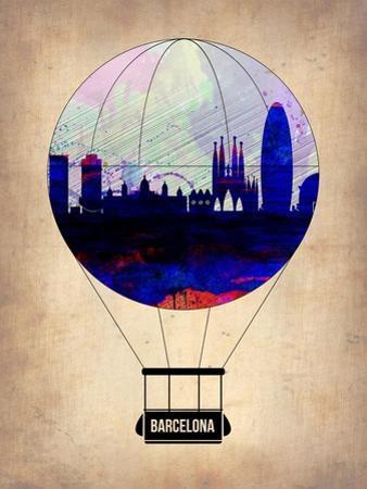 Barcelona Air Balloon by NaxArt