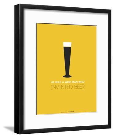 Beer Glass Yellow