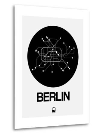 Berlin Black Subway Map