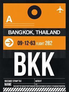 BKK Bangkok Luggage Tag I by NaxArt