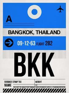 BKK Bangkok Luggage Tag II by NaxArt