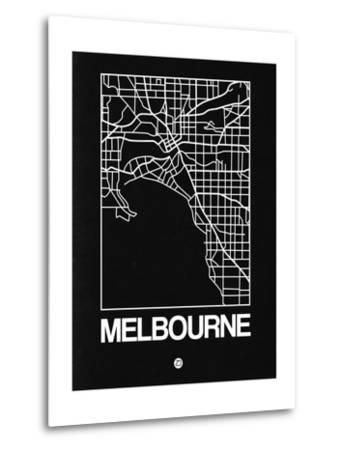 Black Map of Melbourne