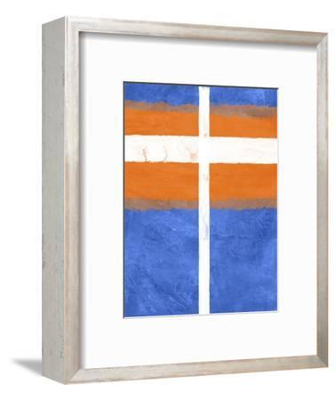 Blue and Orange Abstract Theme 3