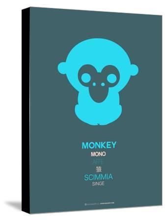 Blue Monkey Multilingual Poster