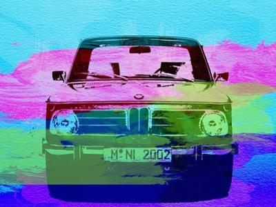 Bmw 2002 Front Watercolor 1