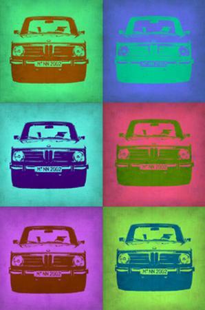 BMW 2002 Pop Art 2
