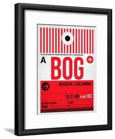 BOG Bogota Luggage Tag I
