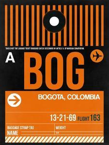 BOG Bogota Luggage Tag II by NaxArt