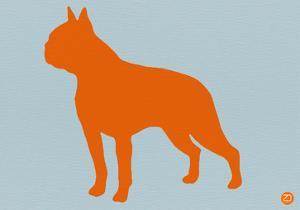 Boston Terrier Orange by NaxArt
