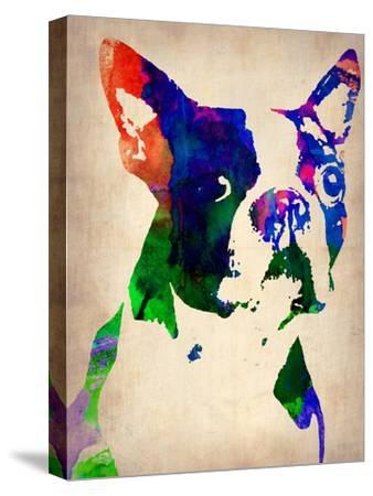Boston Terrier Watercolor