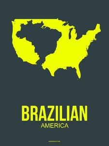 Brazilian America Poster 2 by NaxArt