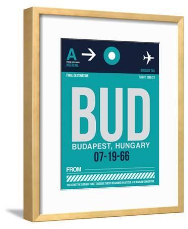 BUD Budapest Luggage Tag II