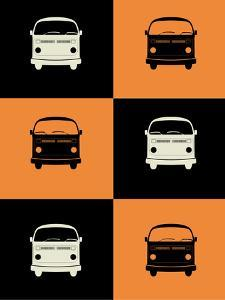 Bus Poster by NaxArt