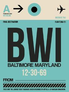 BWI Baltimore Luggage Tag 1 by NaxArt