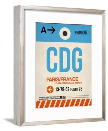 CDG Paris Luggage Tag 2