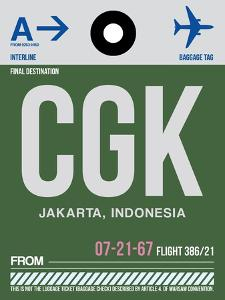 CGK Jakarta Luggage Tag II by NaxArt