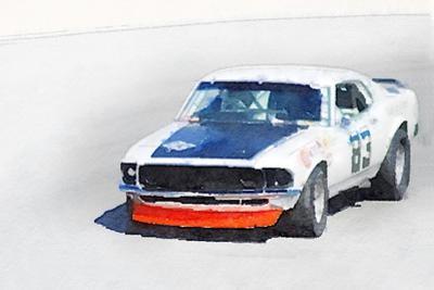 Chevy Camaro Monterey Watercolor