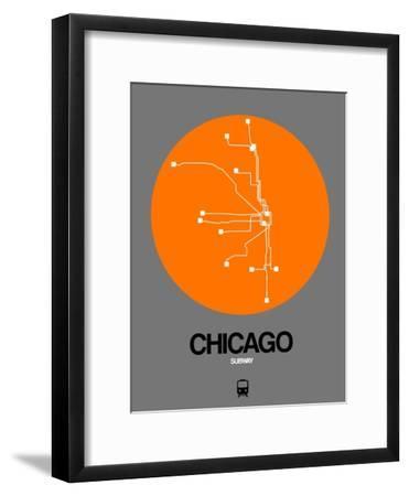 Chicago Orange Subway Map