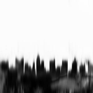 Columbus City Skyline - Black by NaxArt