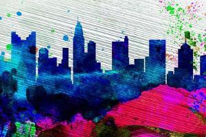 Columbus City Skyline by NaxArt