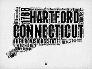 Connecticut Word Cloud 2 by NaxArt