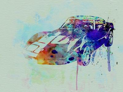 Corvette Watercolor