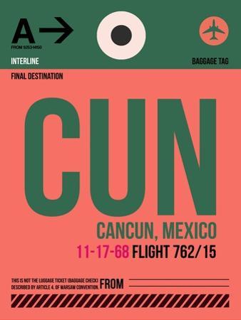 CUN Cuncun Luggage Tag II by NaxArt