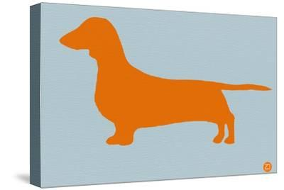 Dachshund Orange by NaxArt