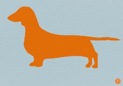 Dachshund Orange by NaxArt