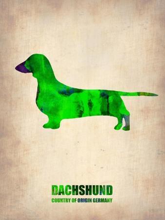 Dachshund Poster 1 by NaxArt