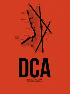 DCA Washington Airport Orange by NaxArt