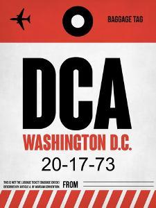 DCA Washington Luggage Tag 1 by NaxArt