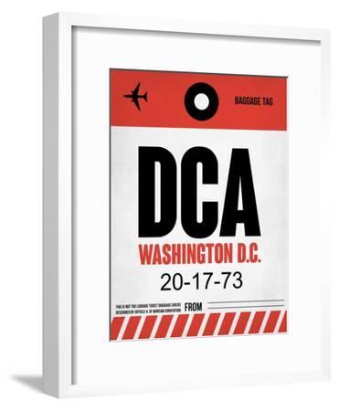 DCA Washington Luggage Tag 1